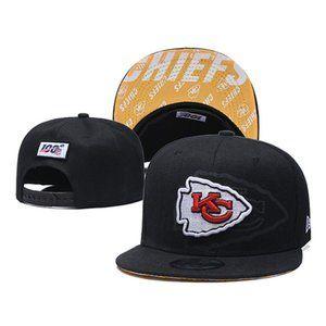 Kansas City Chiefs Snapback Hat Adjustable Cap